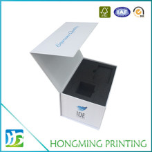 Custom Logo Printed Folding Rigid Cardboard Packaging Paper Magnetic Gift Boxes with Foam Insert