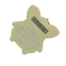 8 Digits Cute Mini Keychain Pocket Calculator