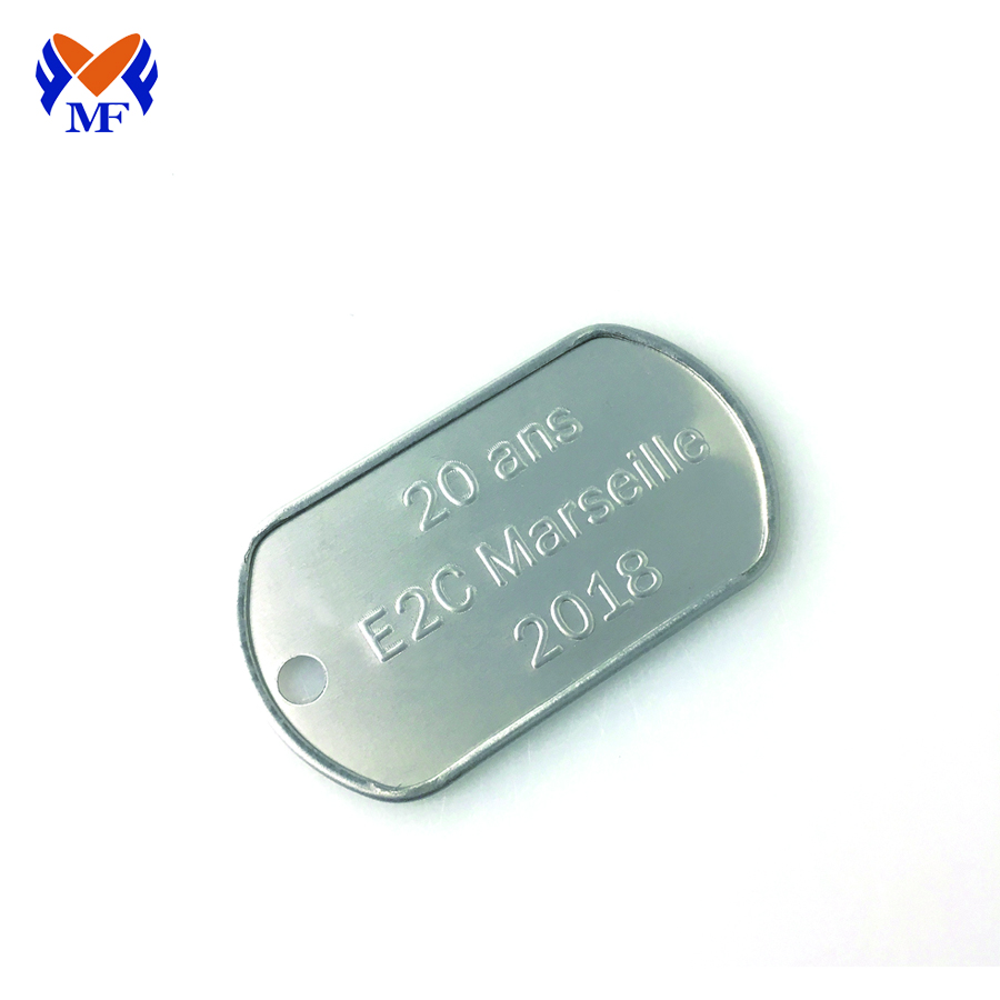 Dog Tag Steel Pendant