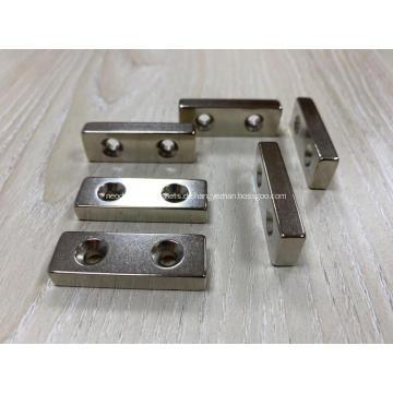 Doppelte versenkte Neodym-Magnete