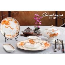 wholesale cutlery handmade pottery dinnerware set