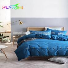 Добби 500TC 100% хлопок роскошные постельные принадлежности комплект постельное белье Дубай