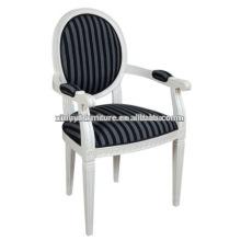 Hotel branco abajur de madeira cadeira de jantar XD1021
