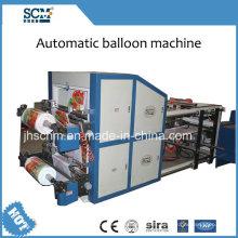 Máquina de globos de papel plateado Scm-1000 de alta eficiencia