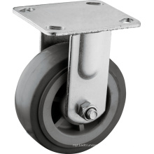"""Heavy Duty 5"""" Fixed Plate Casters"""