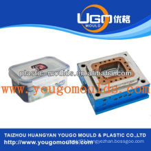 2013 New household zhejiang plastic food storage box injection mold mould made in china supplier