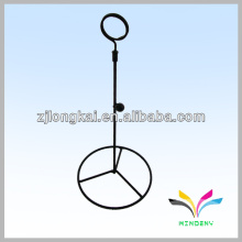 Back smartable simple wire round candle display rack for dinner light