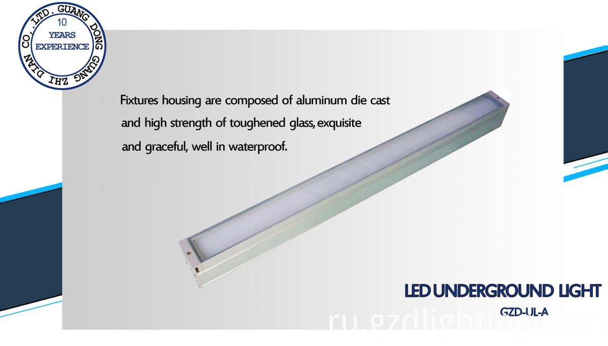 led inground light details