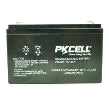 2018 bateria acidificada ao chumbo livre da manutenção de 6v 12ah