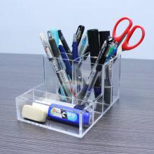 Organisateurs acryliques multifonctionnels d'accessoires de bureau de bureau
