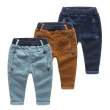 Autumn Kid Boy Clothing Pantalones de chándal de diseño vestido