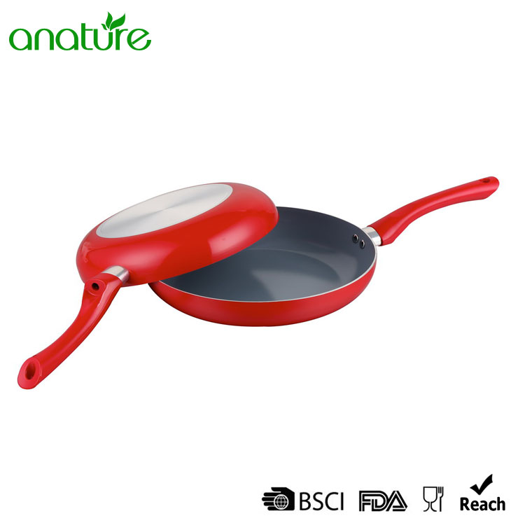 6 Inch Pressed Spiral Bottom Nonstick Frying Pan