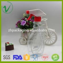 Оптическая под заказ пустая пластиковая бутылка шампуня с триггером, сделанная в Китае