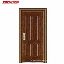 TPS-069 Front Safety Cheap Exterior Steel Villa Entrance Door Design