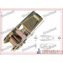 3/4 Inch Small Ratchet Strap Buckle/Steel Release Buckle