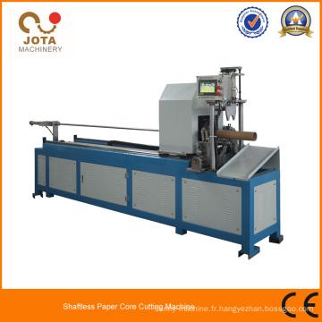 Machines de coupe de tuyau de papier de Kraft de spirale sans axe de haute précision