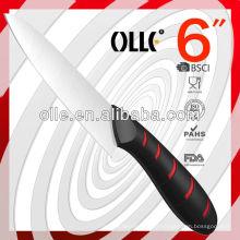 New Design Ceramic Chef Convex Grind Edge Knife