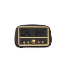 Alto-falante retro recarregável alto-falante portátil vintage