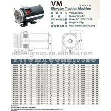 Machine de traction pour ascenseur (série Gearless-ER VM)