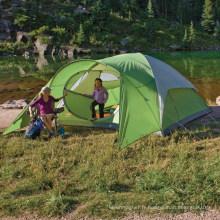 Tente de camping imperméable double couche pour 3 personnes, randonnée pédestre