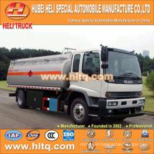 ISUZU 4x2 240hp 16000L hydrochloric acid tank truck hot sale low price
