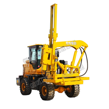 Mesin Pile Highway Hammer Post Driver Pile Driver