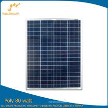 Panel solar polivinílico de 80W con buen precio (SGP-80W)
