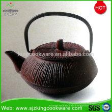 Emaille personalisieren gusseiserne Teekanne zum Verkauf