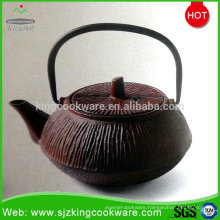 Enamel personalize cast iron teapot for sale