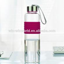Promotional 1Litre Sealed Heat-resisting Stainless Steel Lid Cute Water Bottle