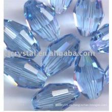2016 cuentas de cristal ovales baratos de cristal granos a granel