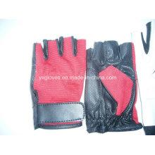 Guante de medio dedo-guante de deporte-guante de bicicleta guante de equitación-guante de levantamiento de pesas-guante de seguridad