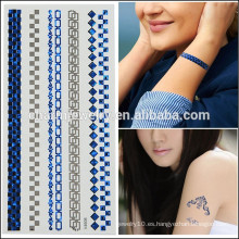 OEM Venta al por mayor tatuajes de diseño más nuevo diseño temporal de la moda del tatuaje de la venta caliente para las muchachas V4606 de la belleza