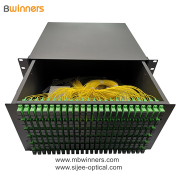 5U 288 Kerne SC Fiber Optic Termination Box Patchfeld