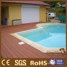 WPC-Composite-Outdoor-Terrassendielen - Swimmingpool-Plattform