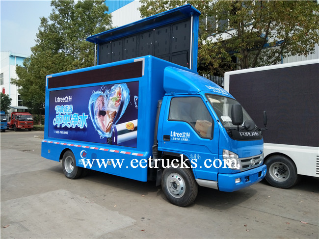 Foton LED Advertising Trucks