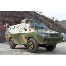 Explosion proof armored vehicle