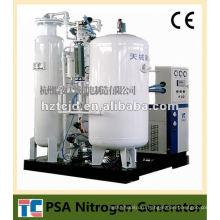 Воздухоразделительная установка На участке Газовая трубопроводная система Использование азота