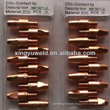 welding contact tip /mig contact tip / Binzel 36KD contact tip