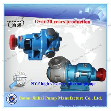 Bomba Interna de Alta Viscosidade Jinhai (NYP) para bitume com pequena vibração e pouco desgaste