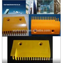 LG Escalator comb plate, Escalator plastic comb plate, escalator spare parts for LG