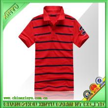 2016 Hot Venda Men Moda Fios Dryed Polo