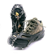 Crampons Ice Cleats Traction Snow Grips for Boots Shoes, Anti Slip Upgraded 19 Walk Traction Ice Cleat Spikes Crampons