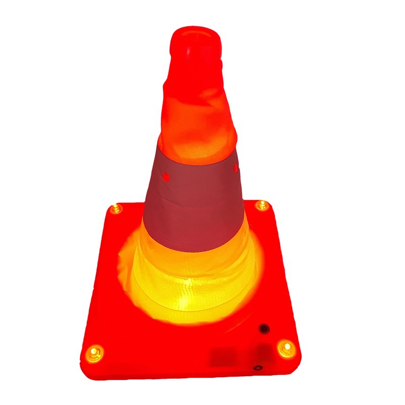 light weight telescopic road cone