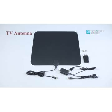 Indoor HDTV Antenna 50 Miles TV Antenna