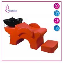 Chaise de shampoing avec bassin en céramique