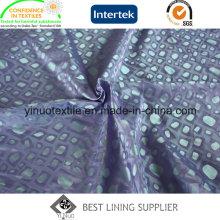 Forma de Pedra 55% Poliéster 45% Viscose Jacquard Forro para Homens; Vestuário S
