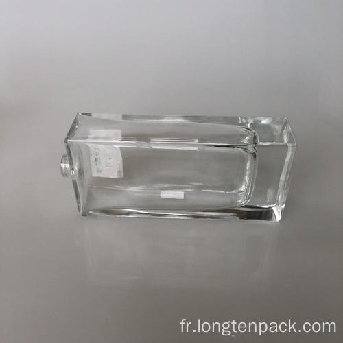 Bouteille de verre rectangle2 120ml