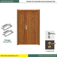 MDF Folding Door MDF Flush Door Bathroom PVC Door