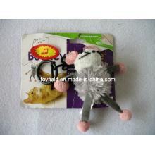 Catnip Mice Cat Toy Plastic Ring Cat Toy